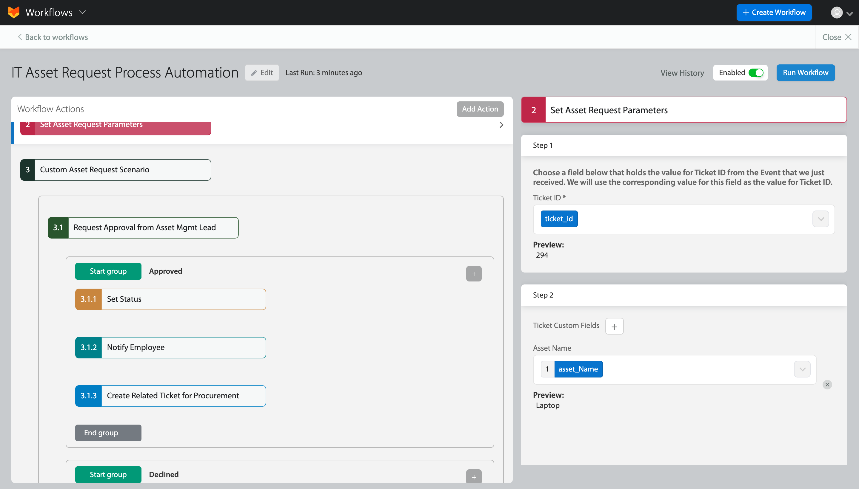Implementing an Approval Management System with HappyFox Workflows