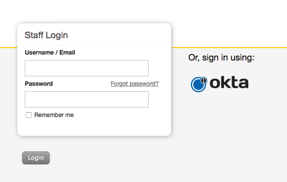 Okta SSO help desk integration