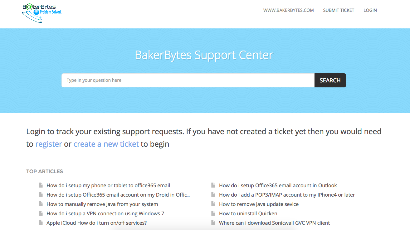 Backerbytes Knowledge Base