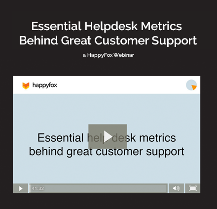 Helpdesk Metrics that Matter