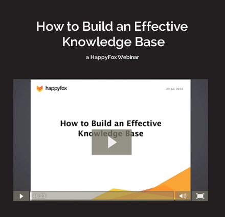 How to Build an Effective Knowledge Base