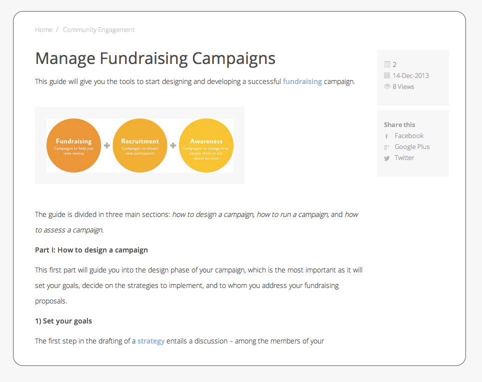 Non-Profit organisation can now manage marketing campaigns using happy fox help desk