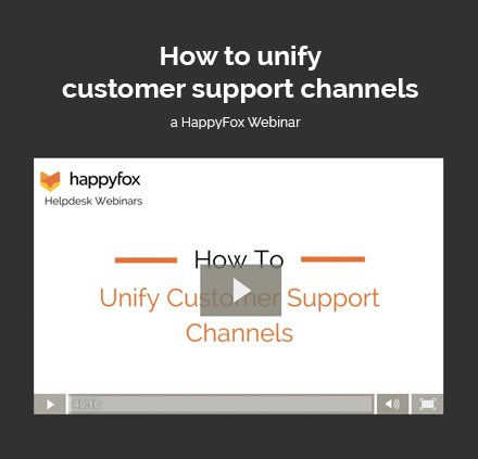 How to Unify Support Channels: Email to Social Media