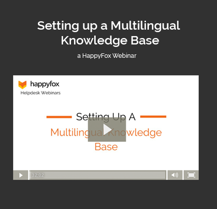 Setting up a Multilingual Knowledge Base