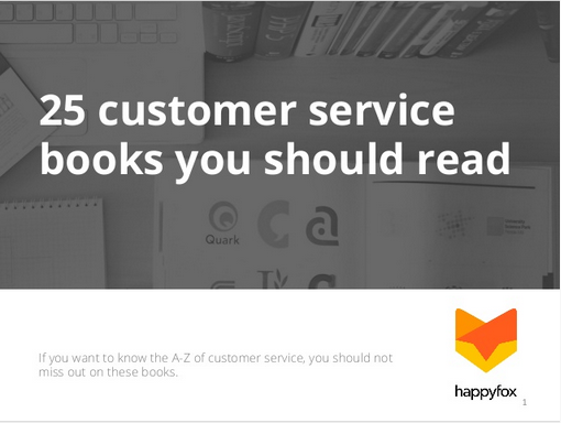 25 Customer service books you should read